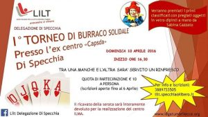 10/4 Specchia: I Torneo di Burraco Solidale