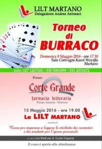 8/05 Martano: Torneo di Burraco