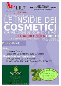 21/04 Calimera – Le insidie dei cosmetici