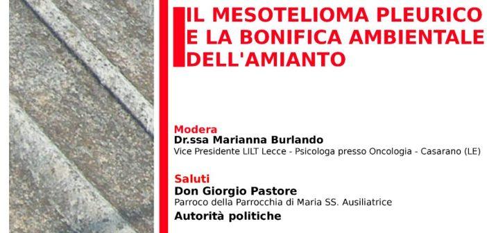 19/05 Monteroni: Sfida all'amianto