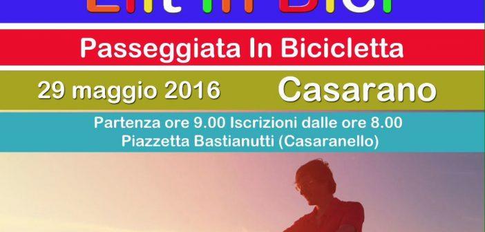 29/05 Casarano: LILT in Bici passeggiata in bicicletta