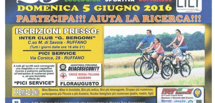 05/06 Ruffano: 25ma biciclettata ecologica sportiva ruffanese