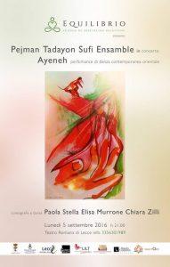 Pejman Tadayon Sufi Ensamble in concerto il 5 settembre a Lecce