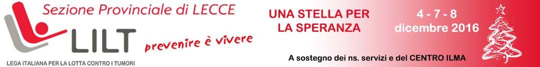 Lega Italiana per la lotta contro i Tumori – Sezione provinciale di Lecce – ONLUS