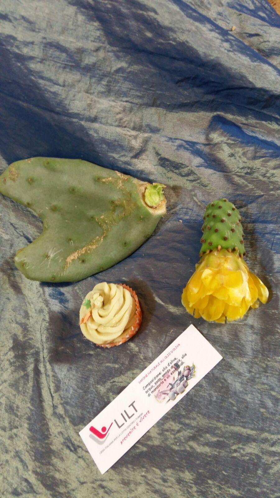 Cupcake soap mediterranei