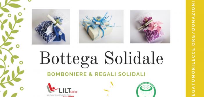 Nasce la E-bottega Solidale: Bomboniere e Regali prenotabili via web da LILT LECCE