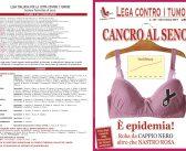 RIVISTA N. 107: Cancro al seno: roba da Cappio Nero altro che Nastro Rosa