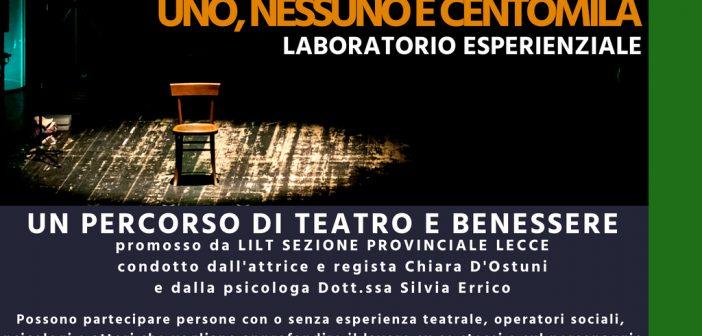 Lecce: Laboratorio esperenziale – UNO, NESSUNO E CENTOMILA