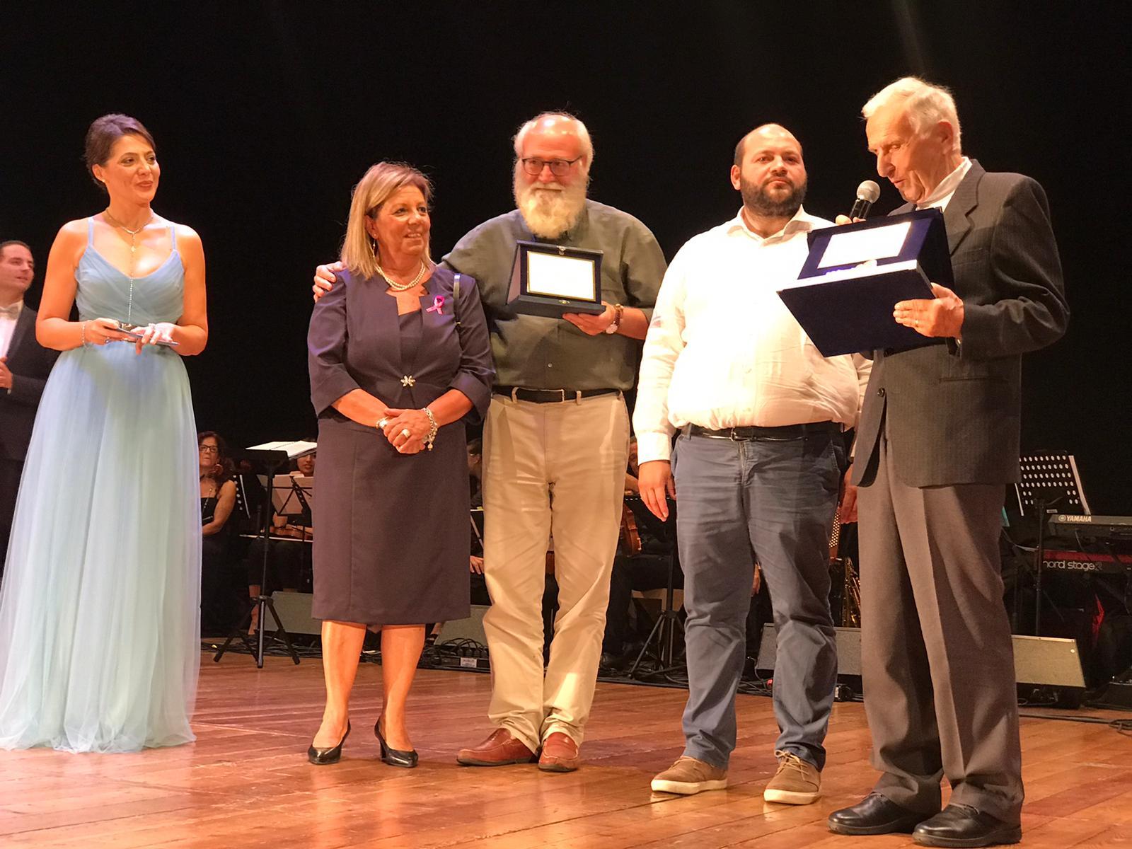 GALLIPOLI – Consegna onorificenza al prof. Silvio Garattini