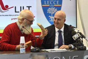 L'US Lecce e LILT insieme per la prevenzione