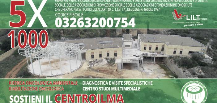 5×1000 alla LILT sez. prov. di Lecce – IL TUO CONTRIBUTO RESTA NEL SALENTO