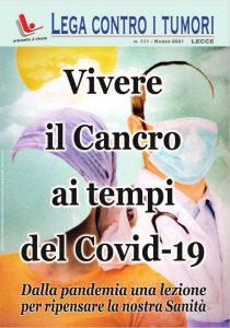 Vivere il Cancro ai tempi del Covid-19 – N. 111 – Marzo 2021